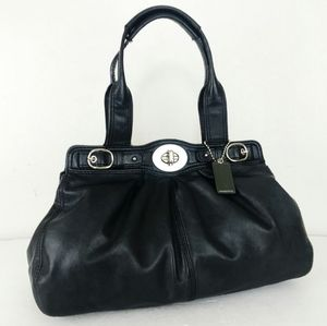 Coach Black Leather Handbag